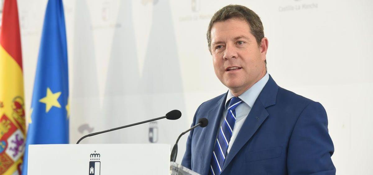 El presidente de Castilla La Mancha, Emiliano García Page (Foto. Gobierno de Castilla La Mancha)