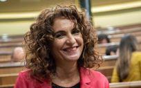 María Jesús Montero, ministra de Hacienda en funciones (Foto: PSOE)