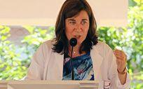 Sara Alba, consejera de Salud de La Rioja (Foto. Residencia Santa Justa)