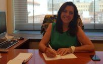 Amparo Moya Sanz, diputada del Grupo Parlamentario Ciudadanos (Foto. @amparomoya02)