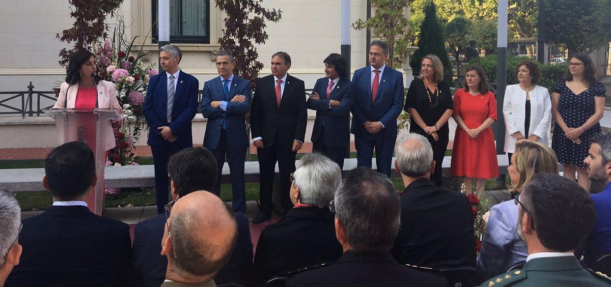 Toma de posión de los nuevos consejeros en La Rioja (Foto. Twitter PSOE La Rioja)