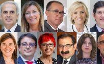 Consejeros de Sanidad de las regiones donde ha habido elecciones autonómicas (Foto: ConSalud)