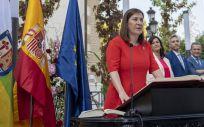 Sara Alba tomando posesión como consejera de Salud de La Rioja (Foto: Gobierno de La Rioja)