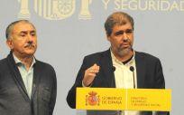 Pepe Álvarez y Unai Sordo, secretarios generales de UGT y CC.OO. (Foto: CC.OO.)
