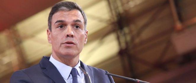 Pedro Sánchez, presidente del Gobierno en funciones. (Foto: PSOE)