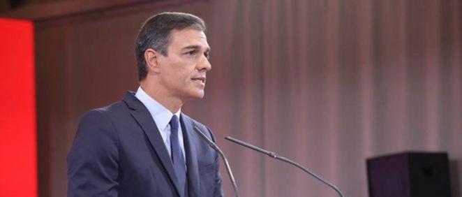 El presidente de Gobierno en funciones, Pedro Sánchez. (Foto: PSOE)