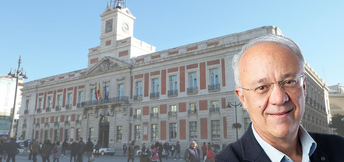 José María Antón García, viceconsejero de Humanización Sanitaria de la Comunidad de Madrid (Fotomontaje ConSalud)