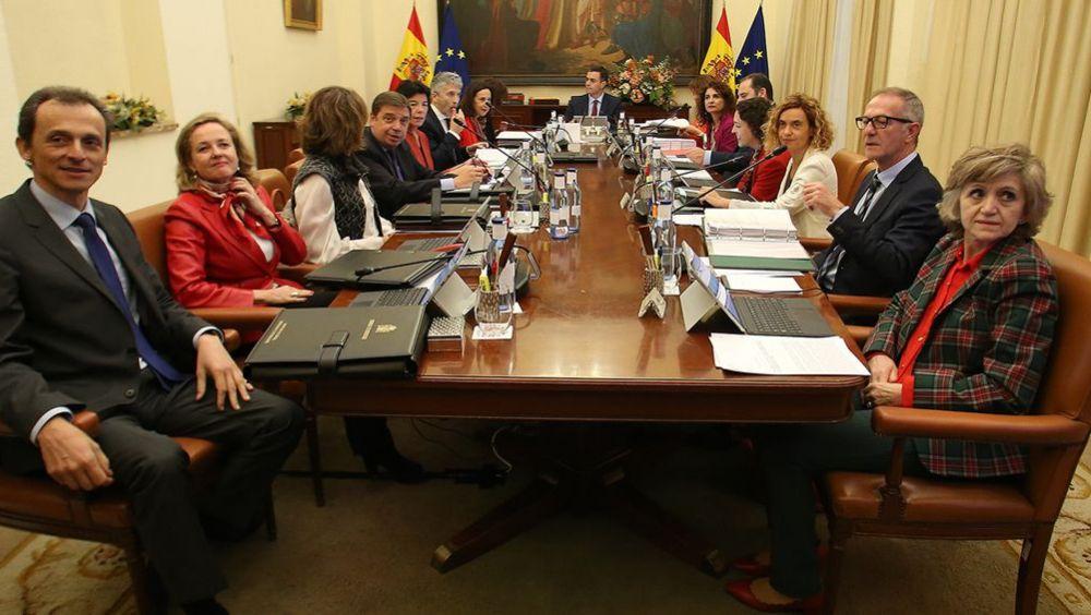 Imagen del Consejo de Ministros que se celebró en Sevilla (Foto: La Moncloa)