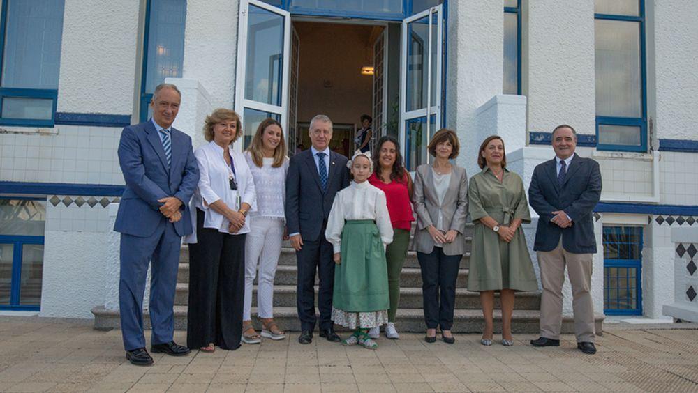 Urkullu celebra los 100 años del Hospital Gorliz
