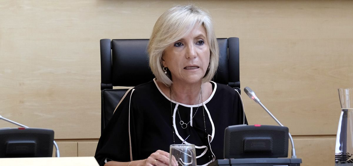 Verónica Casado, consejera de Sanidad de Castilla y León (Foto. Junta de Castilla y León)