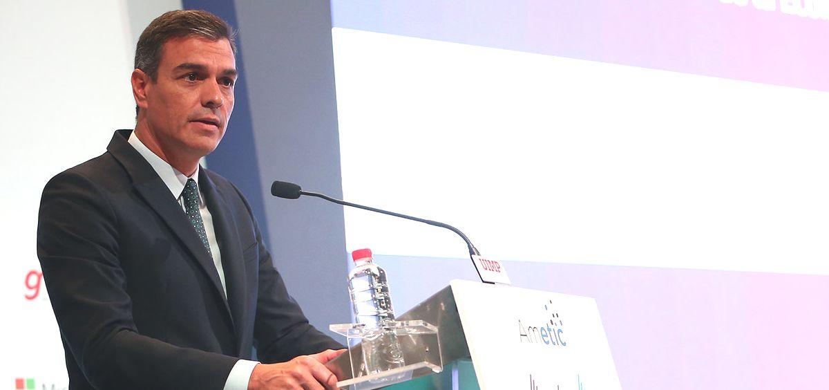 Pedro Sánchez, presidente del Gobierno en funciones (Foto: La Moncloa)