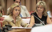 María Luisa del Moral (izq), portavoz de Sanidad del PP en el Congreso (Foto: PP)