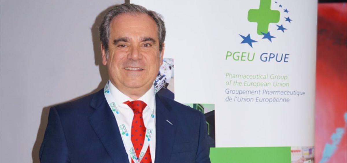Jesús Aguilar, presidente del Consejo General de Colegios Oficiales de Farmacéuticos.