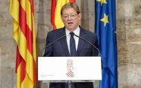 Ximo Puig, presidente de la Generalitat Valenciana (Foto: GVA)