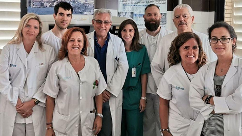 Profesionales de la Unidad de Transfusiones del Hospital Clínico (Foto. Gobierno de Aragón)