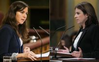 Ione Belarra y Adriana Lastra, representantes de Unidas Podemos y PSOE en el Congreso (Fotomontaje ConSalud.es)