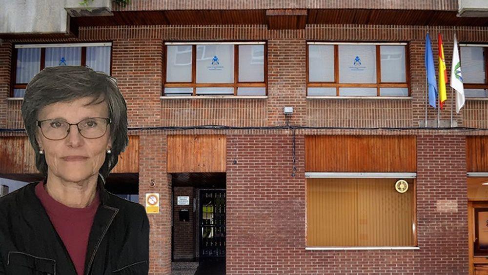 Elena Fernández Ardisana, presidenta del Colegio de Enfermería de Asturias (Foto. Fotomontaje ConSalud.es)