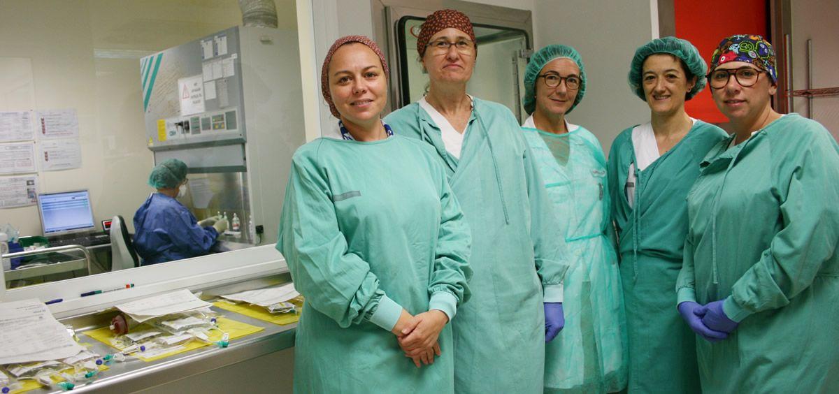 Profesionales del Servicio de Farmacia del Hospital Universitario Doctor Peset (Foto. Generalitat Valenciana)