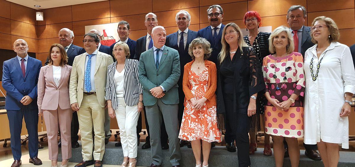 Representantes de las consejerias de Sanidad y del Ministerio en el Consejo Interterritorial (Foto: ConSalud)