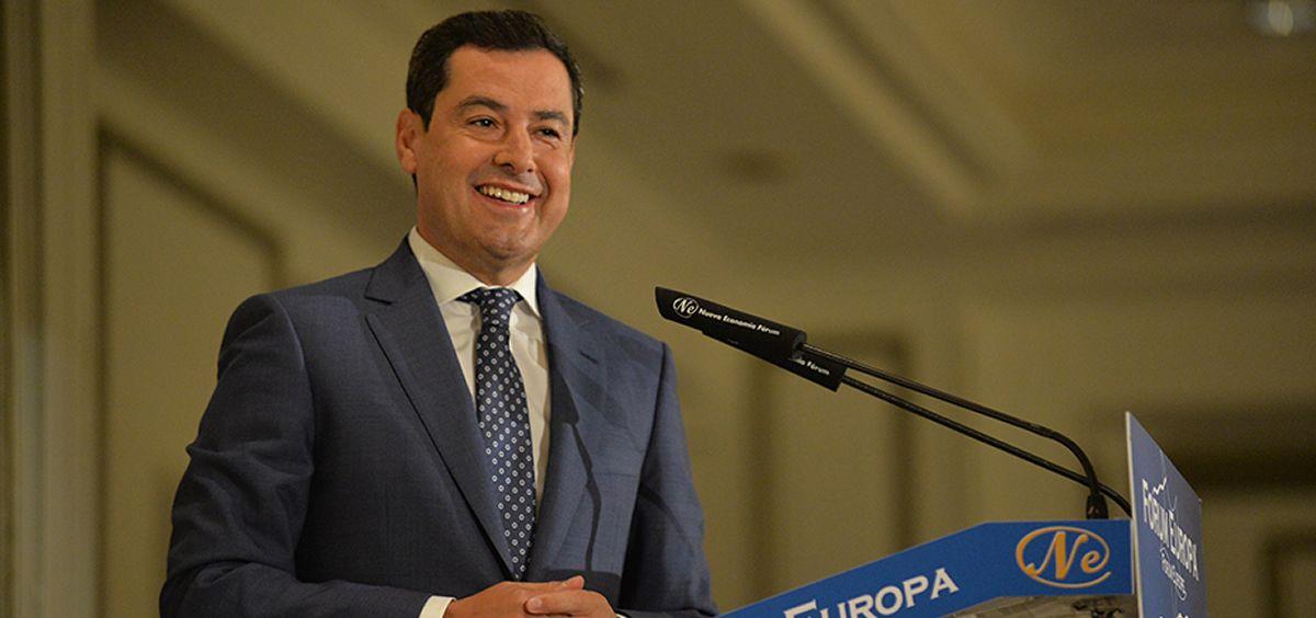Juanma Moreno, presidente de la Junta de Andalucía (Foto. Junta de Andalucía)