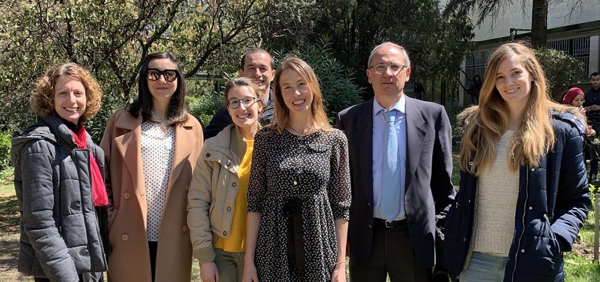 Miembros del estudio sobre la acción de la vitamina D sobre las células madre normales y cancerosas de colon (Foto. ConSalud)