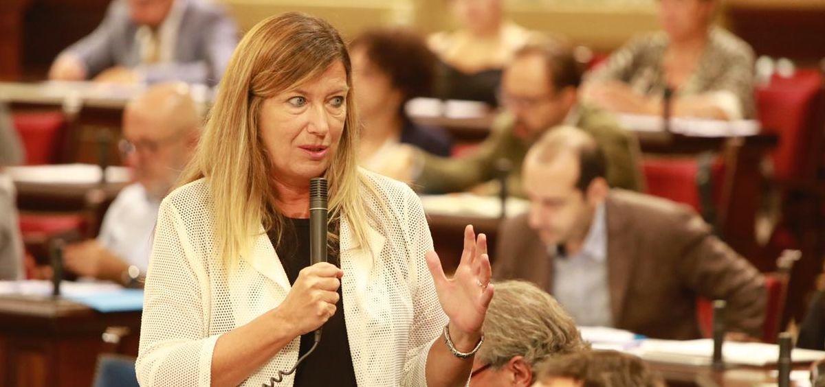 Patricia Gómez, consejera de Salud de Baleares (Foto: @Patgompic)