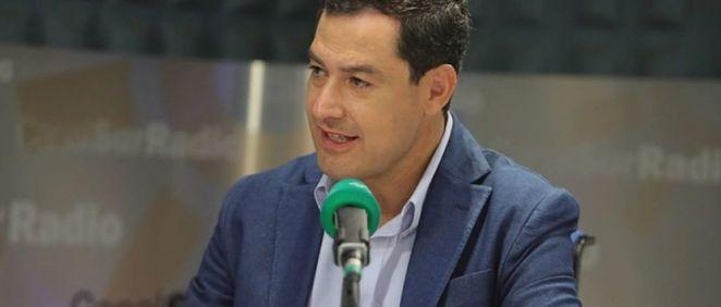 Juanma Moreno, presidente de la Junta de Andalucía (Foto. @AndaluciaJunta)