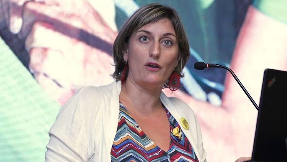 Alba Vergés, consejera de Salud de Cataluña (Foto. @albaverges)