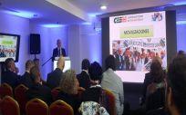El secretario general de CESM, Francisco Miralles, durante su intervención en la 4ª Conferencia Internacional de Sindicatos Médicos (Foto: CESM)
