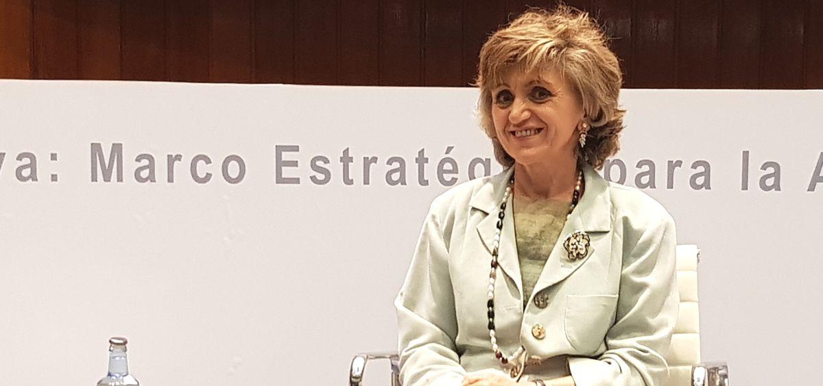 María Luisa Carcedo, ministra de Sanidad en funciones (Foto: ConSalud.es)