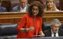 María Jesús Montero, ministra de Hacienda en funciones. (Foto. Congreso de los Diputados)