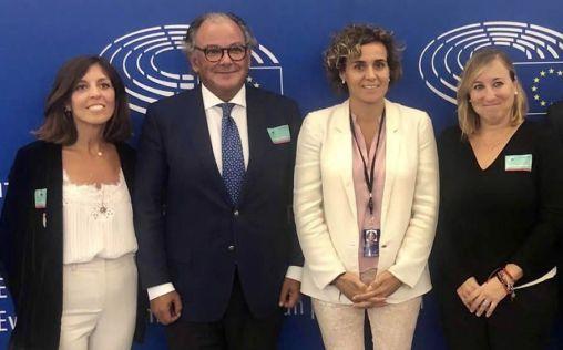 Aeseg se reúne con los eurodiputados españoles