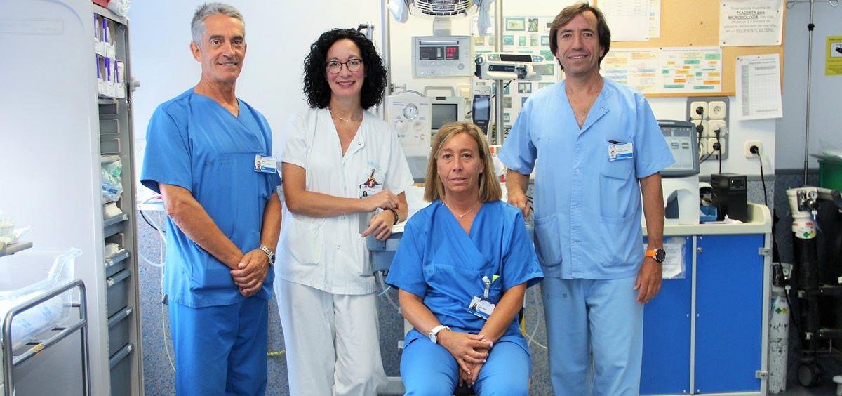 Equipo del Hospital Clínico San Carlos (Foto. Hospital Clínico San Carlos )