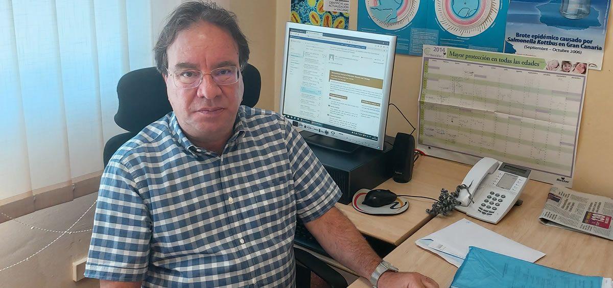 Amós José García Rojas, presidente de la Asociación Española de Vacunología (AEV). (Foto. ConSalud)
