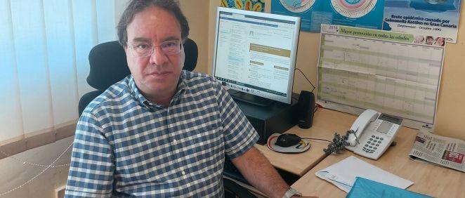 Amos José García Rojas, presidente de la Asociación Española de Vacunología (AEV). (Foto. ConSalud)