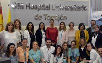 Miembros del Hospital de Torrejón (Foto. ConSalud)