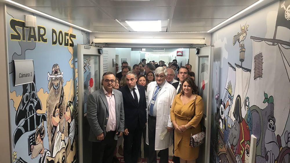 El Materno Infantil inaugura la planta de Oncología Pediátrica