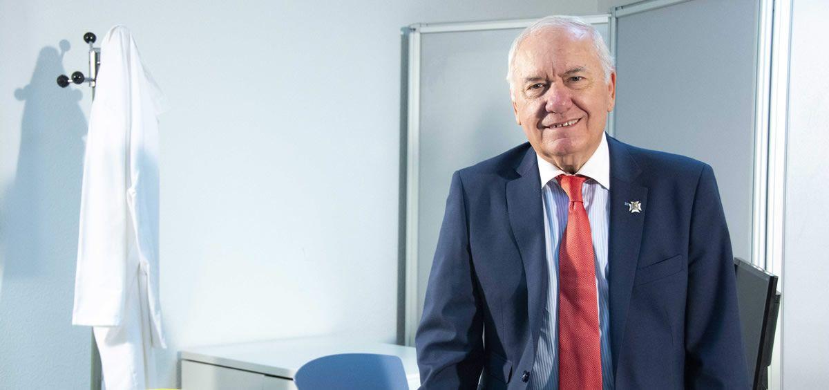 El presidente del Consejo General de Enfermería, Florentino Pérez Raya. (Foto. ConSalud)