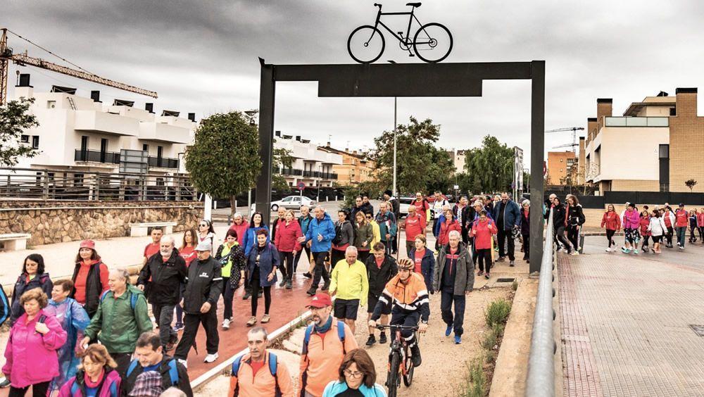 Camino de Cervantes, por la salud prostática