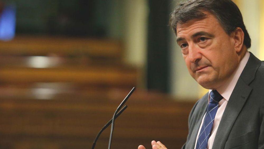 Aitor Esteban, portavoz del PNV en el Congreso de los Diputados (Foto: Congreso)