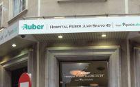Fachada exterior del Hospital Ruber Juan Bravo.