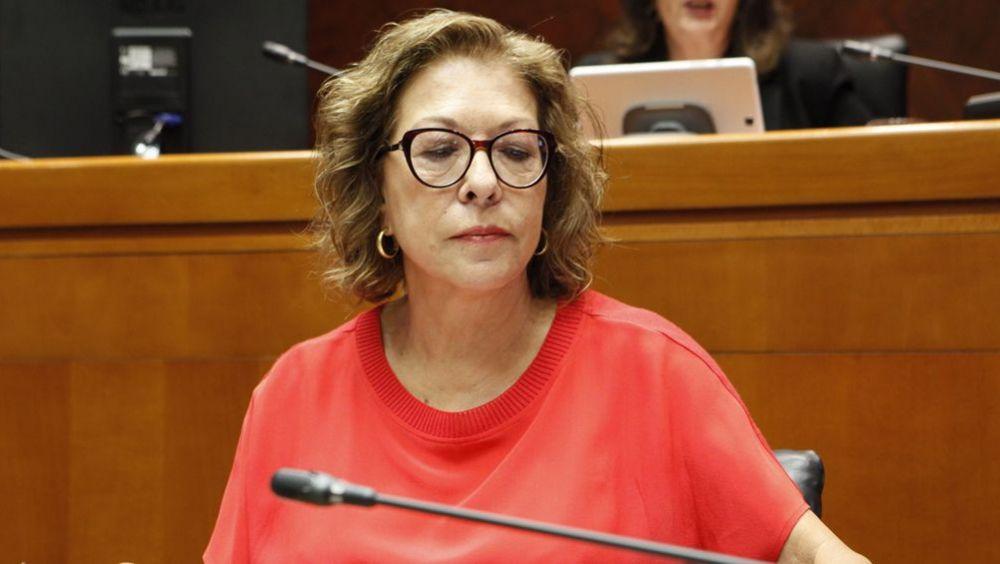 Pilar Ventura, consejera de Sanidad de Aragón (Foto: Cortes de Aragón)