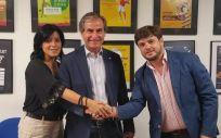 Acuerdo de colaboración entre Asisa y la Federación Catalana de Pádel (Foto. ConSalud)