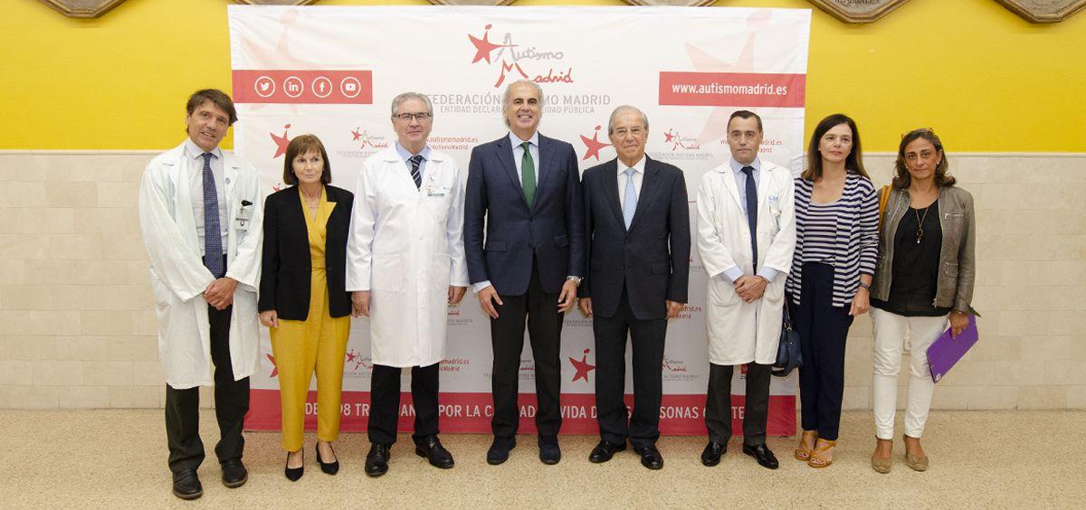 Foto durante la presentación de las Jornadas de Autismo (Foto. Comunidad de Madrid)