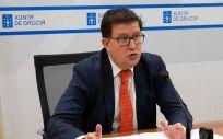 El director general de Función Pública de la Xunta de Galicia, José María Barreiro. (Foto. Xunta)