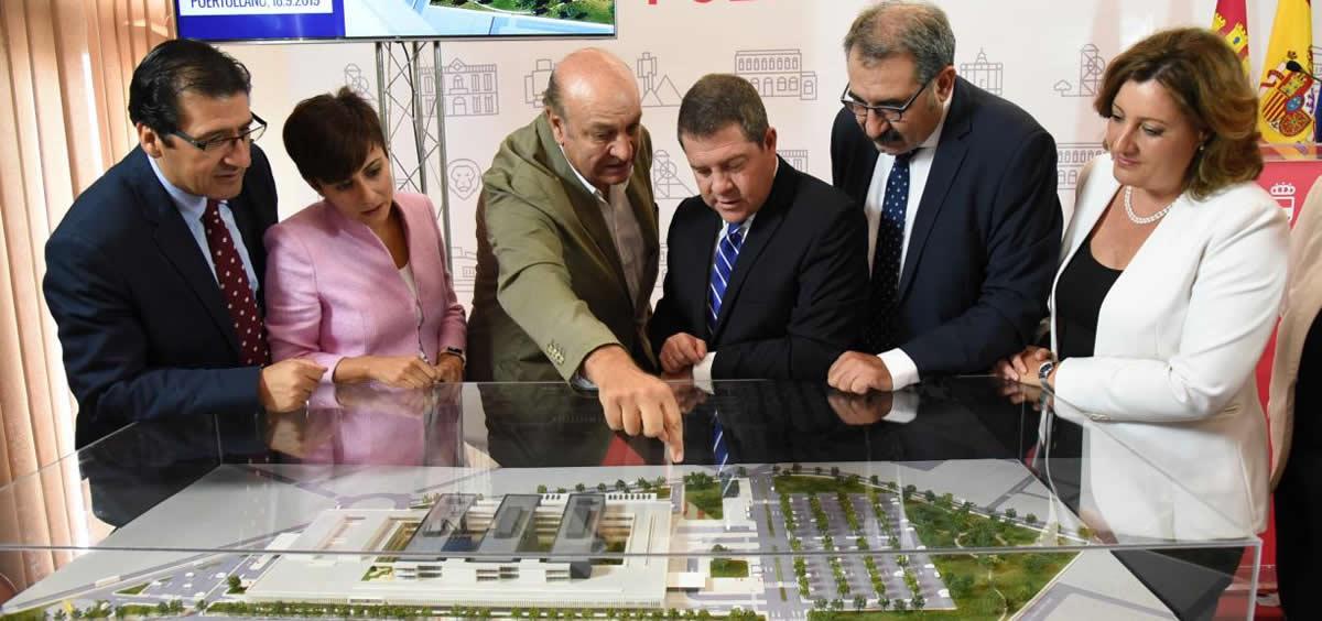 Presentación nuevo Hospital de Puertollano (Foto. Sescam)