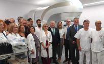 Aguirre, tras situar a Almería en la vanguardia tecnológica sanitaria