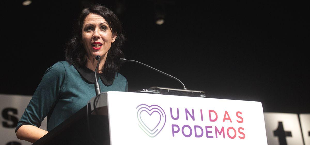 Eva García Sempere, diputada de Unidas Podemos (Foto: Podemos)