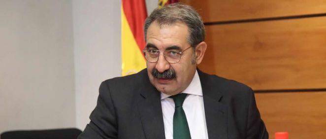 El consejero de Sanidad, Jesús Fernández Sanz (Foto. Sescam)