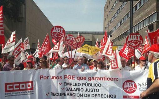 Los sindicatos programan un otoño de movilizaciones sanitarias antes del 10-N